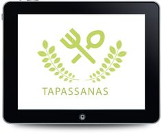 Diseño de logotipo para el restaurante Tapassanas