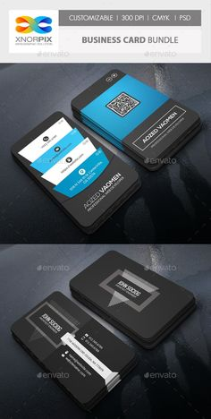 Buy Business Card Bundle by -axnorpix on GraphicRiver. Round /square corner possible. Foil Business Cards, Business Card Psd, Corporate Business, Corporate Identity, Lato Font, Professional Business Card Design, Name Card Design, Bussiness Card, Maker