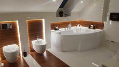 Cabin Bathrooms, Toilet Room, Bathroom Interior, My Dream Home, Master Bath, Sweet Home, Bathtub, Interior Design, House