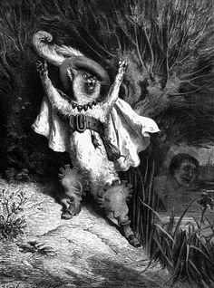 """""""Puss in Boots"""" by Gustave Dore"""