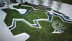 融创龙岩·观樾台人居体验馆 / 山水比德 – mooool木藕设计网 Landscape Engineer, Landscape Model, Urban Landscape, Landscape Architecture, Landscape Design, Garden Design, Park Landscape, Plaza Design, Light Art Installation