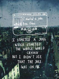 Bee Gees - I started a joke