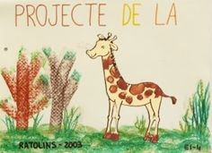BUSCANT IDEES: LES GIRAFES Africa, Art Journaling, School, Animals, Stitches, Kenya, Classroom, Art Diary, Performing Arts