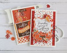 IMG_9559 Echo Park Paper, Fall Projects, Fall Cards, Papers Co, Blessed, Create, Inspiration, Scrapbooking Ideas, Videos