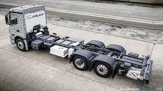 Mercedes EV truck concept