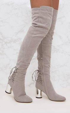 76906b91acd8 134 Best Boots images in 2018 | Block heels, Faux suede fabric, Beige