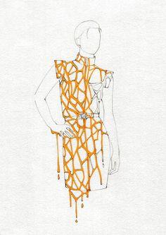 Ruveyde Oder MA Fashion Design Technology Womenswear London College of Fashion