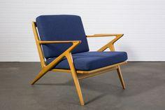 Danish Modern 'Z' Lounge Chair by Poul Jensen  $1800  MIDCENTURY MODERN FINDS