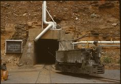 Entrance to the asbestos mine, Wittenoom, 1961 South Australia, Western Australia, Wa Gov, Wild West, Perth, Fresh Water, Touring, Entrance, Remote