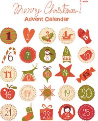 Advent Calendar printables - Lifestyle | OHbaby!