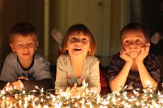 Capturing Memorable Holiday Photos with Kids at Night