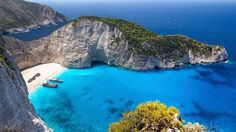 Wish you were here: Zakynthos, Greece Hawaii Destinations, Disney Destinations, Rice Lake, Wish You Are Here, Travel Info, Travel Agency, Brazil, Planets, Surfing