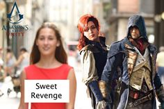 Assassin's Creed: Unity: A beautiful love story Assassins Creed Memes, Assassin S Creed Unity, Assassin's Creed, Arno Victor Dorian, Beautiful Love Stories, Blue Exorcist, Character Ideas, Love Story, Wolves