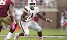 Miami's Mark Walton to declare 2018 for NFL Draft = Mark Walton did not serve as one of the centerpieces in Miami's climb toward the top of the college football lexicon this season, but the junior running back was.....