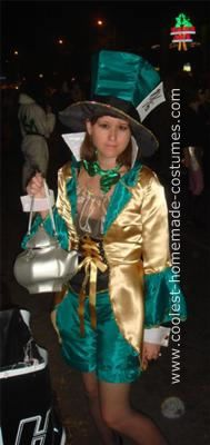 Original Version of a Mad Hatter Costume Book Character Costumes, Book Characters, Costume Patterns, Costume Ideas, Mad Hatter Costumes, Alice In Wonderland Costume, Homemade Costumes, Cool Books, Fabric Covered