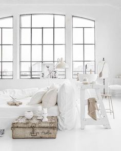 White Interior Are you looking for the perfect idea before designing your living room? Well, we have 35 classy white living room ideas for you.