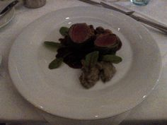 Saddle of venison in a cabbage coat, topinambur, chestnut and red onions @ Restaurant Herrlich