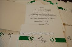 Wedding Invitations for Raluca and Sorin.