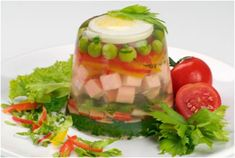 7 Retro Aspic Recipes...use the trotters from the slaughtered pig!