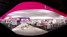 Brand Experience of Deutsche Telekom at the CeBIT 2013 in Hannover. Context: Your first Choice for Cloud Solutions.