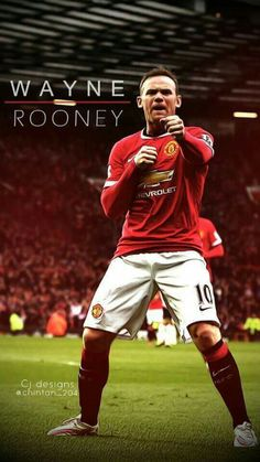 Don't Play Football Without Reading This First! Like many people, you may really enjoy football. What level of football player do you wish to be? Manchester United Wallpaper, Manchester United Players, Manchester United Rooney, As Roma, Real Madrid, Fifa, Match Of The Day, Wayne Rooney, Soccer Quotes
