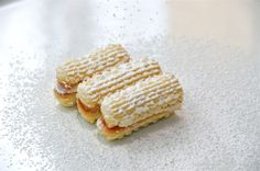 Vienesse cookie - A melt in the mouth sensation, also can be naturally flavored, raspberry, lemon or citrus!