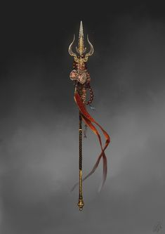 """The Hindu god Shiva, made for the art book """"Age of Pantheons""""."""