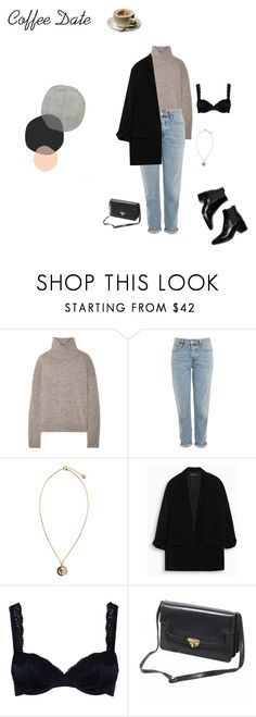 """Coffee Date Concours"" by eleonore-plot on Polyvore featuring mode, Vince, Topshop, Versus, STELLA McCARTNEY, INDIE HAIR et Parra"