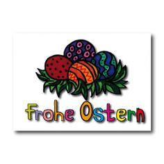 """Grußkarten """"FROHE OSTERN"""" nur 2,45 EUR/Stück"""