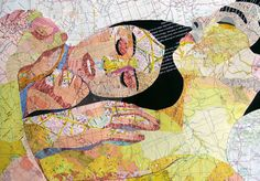 Map Collages by Joao Machado