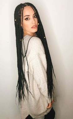 85 Box Braids Hairstyles for Black Women - Hairstyles Trends Box Braids Hairstyles For Black Women, Braided Ponytail Hairstyles, African Hairstyles, Updo Hairstyle, Braided Updo, Prom Hairstyles, White Girl Braids, Girls Braids, Short Box Braids
