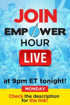 It's time to make a change and create the life you're dreaming of. Click here to join Empower Hour LIVE at 9pm ET: http://www.empowernetwork.com/empowerhour