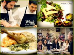 Whisk cooking classes are small, interactive and fun.