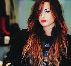 Demi Lovato has the hair She Was Beautiful, Beautiful People, Simply Beautiful, Pretty People, Justin Bieber, Demi Lovato Hair, Demi Love, Hair Color For Women, My Princess