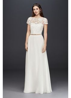 Searching for discount wedding dresses? Browse David's Bridal wedding dresses for sale, including discount plus size & designer wedding dresses online now! Sweet Wedding Dresses, Informal Wedding Dresses, Wedding Dresses For Sale, Perfect Wedding Dress, Wedding Gowns, Lace Wedding, Dream Wedding, Church Wedding, Wedding Outfits