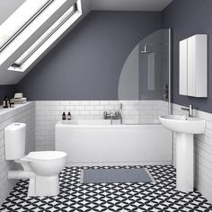 Look through our vast range of Ensuite bathroom ideas right here on ... ideas to help start the planning process and get the very most out of your bathroom suite. #BathroomIdeas #Ranges