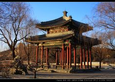Pavillion in The Summer Palace - Beijing - China  Google Image Result for http://www.hibeijingattraction.com/wp-content/uploads/2011/01/Summer-Palace-in-Beijings-Winter.jpg