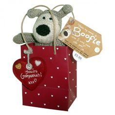 Boofle Mini Plush In A Red Gift Bag You're Gorgeous Valentine's Day Gift New Better Day, Red Bags, Small Gifts, Valentine Day Gifts, Plush, Christmas Ornaments, Holiday Decor, Mini, Celebrations