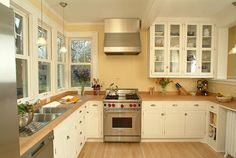ikea painted kitchen | Painting Cabinets White, I like the whiteStat cabinets, especially the ...