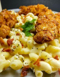Honey Pepper Chicken Mac and Cheese 1