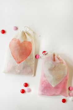 Watercolor Treat Bags - Think Crafts by CreateForLess