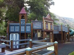 Foster's Place | Park in Georgetown, CO - one of our favorite parks to visit! So fun and surrounded by beauty!    tags: Georgetown CO Colorado Kids Park Play