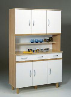 Küchenbuffet Elisa #Möbel #weiß #Schrank #Küche #Küchenbuffet