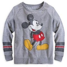 Mickey Mouse Long Sleeve Raglan Tee for Women