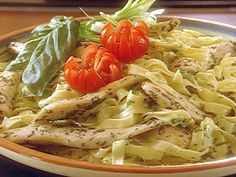 Fettuccine Chicken Salad