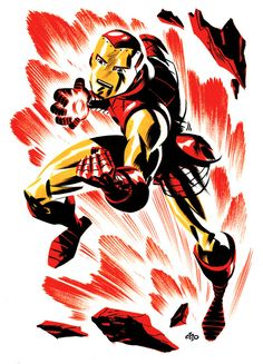 Iron Man by Michael Cho