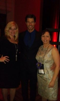 Me with Sarah Humphries and Mr. Romance 2012