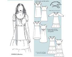 Kleid in Empireoptik und großem Rundhalsausschnitt (2009), 4 Varianten, Größe 34-46