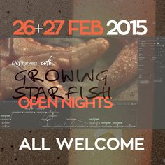 OPEN NIGHTS  Join us tonight 7pm with Ps. John for #HarvestCOTN15 #GrowingStarfish and Fri 7pm Guest Speaker Louis Els