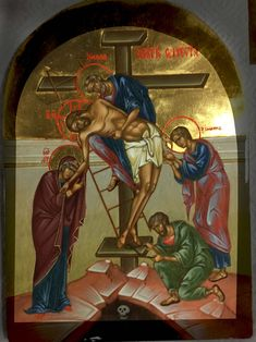 Снятие с Креста 17х25